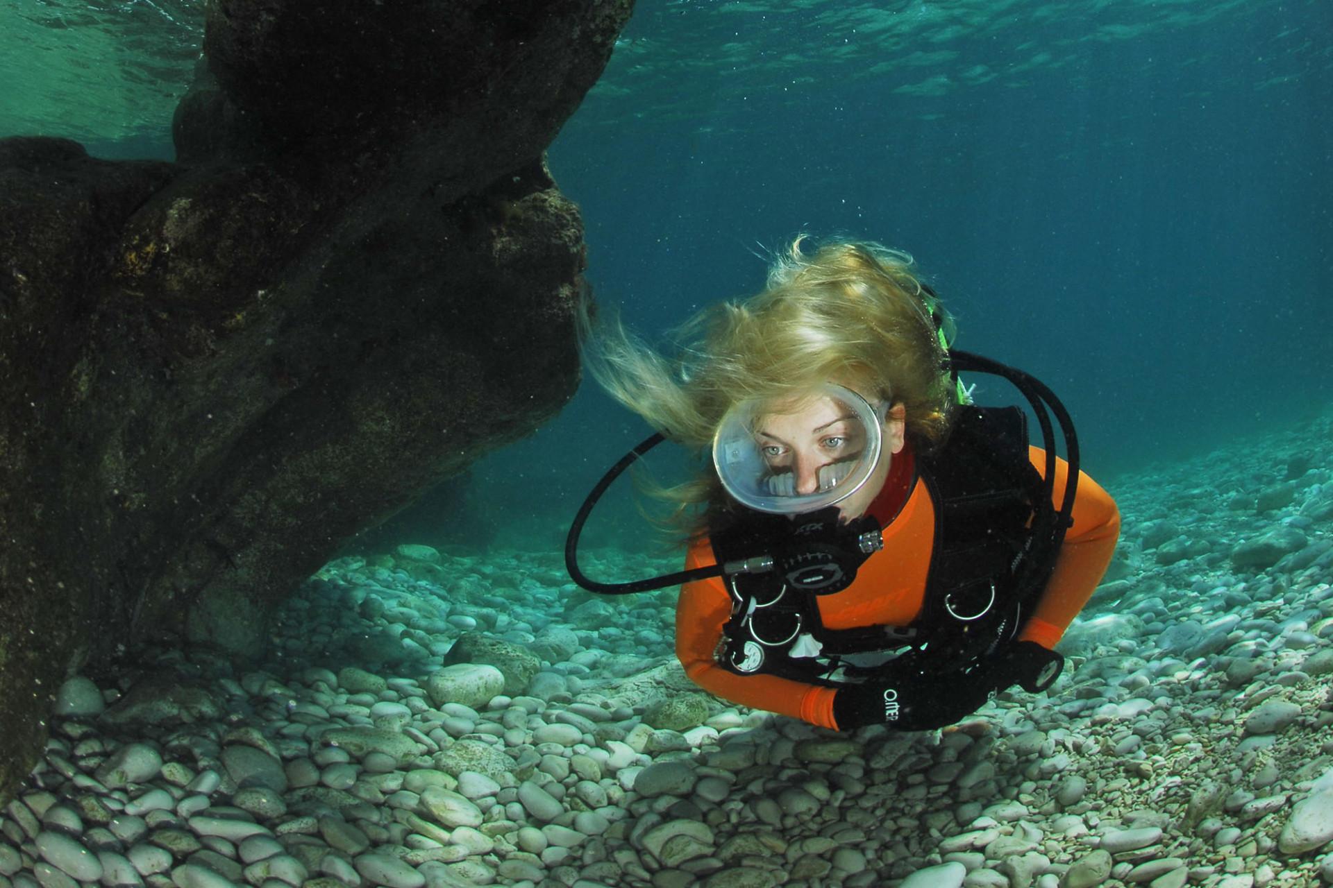 Scuba diving in Brijuni National Park | Brijuni National Park
